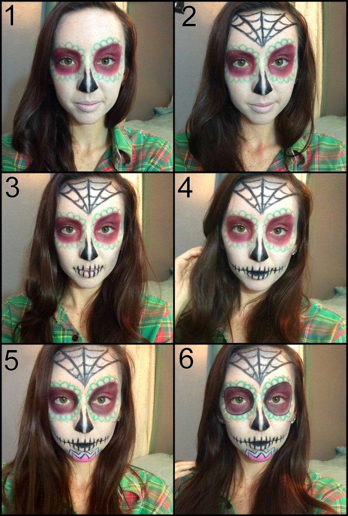 sugar skull pictorial